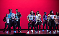 One of Occidental College's oldest traditions, Dance Production (or Dance Pro) involves many students. Dress rehearsal on March 16, 2017 in Thorne Hall.<br /> (Photo by Marc Campos, Occidental College Photographer)