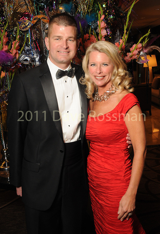 Stephanie and Chris Doyle at the 20th San Luis Salute Friday Feb. 05, 2016.(Dave Rossman photo)