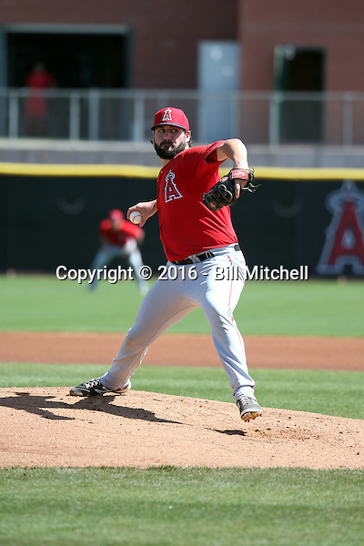 Zach Nuding - Los Angeles Angels 2016 spring training (Bill Mitchell)