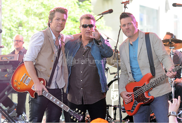 New York,NY-May 30: Rascal Flatts in concert on NBC's Today Show  in New York City on May 30, 2014. Credit: John Palmer/MediaPunch