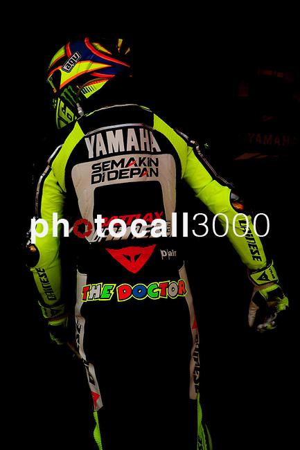 Campeonato del Mundo de Motociclismo en Montmeló.Cataluña.<br /> World Championship Motorciclyng in Montmeló.Catalunya.<br /> Boxes.<br /> 46Valentino Rossi (46)(ITA), (Yamaha Factory Racing), (Yamaha),