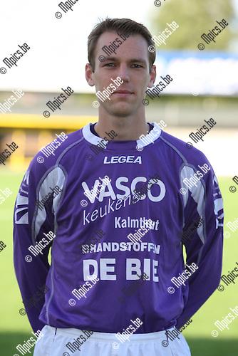 2007-08-04 / Voetbal / Gooreind / Yves Van Ginneken
