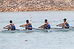 Unified Korea team group,<br /> AUGUST 19, 2018 - Rowing : <br /> Men's Quadruple Sculls  Heat <br /> at Jakabaring Sport Center Lake <br /> during the 2018 Jakarta Palembang Asian Games <br /> in Palembang, Indonesia. <br /> (Photo by Yohei Osada/AFLO SPORT)