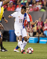 PHILADELPHIA, PENNSYLVANIA - June 14, 2016: Copa America Centenario USA 2016.  Chile vs Panama in a match at Lincoln Financial Field.  Final score Chile 4, Panama 2.