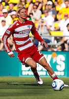 28 AUGUST 2010:  during MLS soccer game between FC Dallas vs Columbus Crew at Crew Stadium in Columbus, Ohio on August 28, 2010.