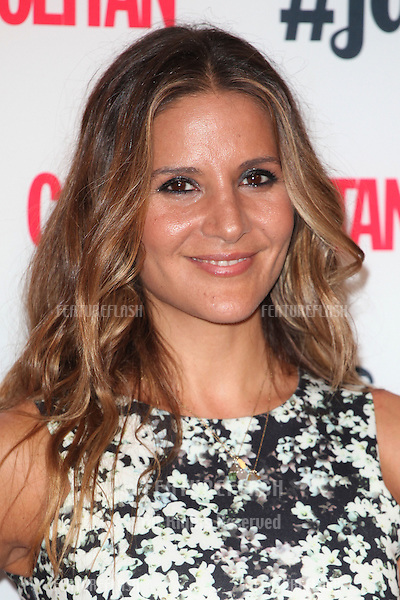 Amanda Byram arriving for the Cosmopolitan Fashfest, at Battersea Evolution, London. 18/09/2014 Picture by: Alexandra Glen / Featureflash