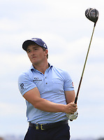 Paul Dunne (IRL) on the 5th tee during Round 4 of the Open de Espana 2018 at Centro Nacional de Golf on Sunday 15th April 2018.<br /> Picture:  Thos Caffrey / www.golffile.ie<br /> <br /> All photo usage must carry mandatory copyright credit (&copy; Golffile | Thos Caffrey)