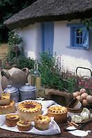 Europe/France/Pays de la Loire/85/Vendée/Sallertaine : Flan Maraichin - Recette de M. Gautier (pâtissier)