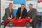 Donal Waters, Blackstone Motors, Paul Bell, Paddy Magee, Renault and Noel Stewart, Blackstone Motors at the Drogheda Motor Show Launch Night in the d Hotel...Picture Jenny Matthews/Newsfile.ie