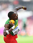 Kurt FELIX (GRN) in the mens decathlon shot put. IAAF world athletics championships. London Olympic stadium. Queen Elizabeth Olympic park. Stratford. London. UK. 11/08/2017. ~ MANDATORY CREDIT Garry Bowden/SIPPA - NO UNAUTHORISED USE - +44 7837 394578