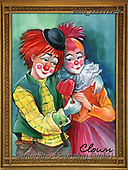 Alfredo, CHILDREN, KINDER, NIÑOS, paintings+++++,BRTOXX05717CP,#k#, EVERYDAY ,clowns