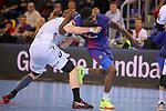 VELUX EHF 2017/18 EHF Men's Champions League Last 16.<br /> FC Barcelona Lassa vs Montpellier HB: 30-28.<br /> Dika Mem.