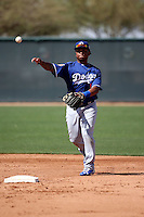 Willie Calhoun - Los Angeles Dodgers 2016 spring training (Bill Mitchell)
