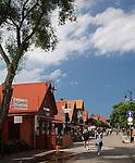 Ulica Wiejska, Hel<br /> Wiejska Street, Hel