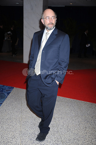 Richard Schiff arrives at the White House Correspondents' Association Dinner in Washington, DC. May 1, 2010. Credit: Dennis Van Tine/MediaPunch