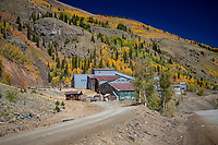 Silverton Colorado is a former silver mining camp, most or all of which is now included in a federally designated National Historic Landmark District, the Silverton Historic District.