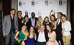 Austin Peck, John Viscardi, Colleen Zenk, Timothy Stickney, Ilene Kristen, Fiona Hutchison, Anne Sayre, N.J. Burkett (WABC 7 News), Gina Tognoni (Back Row) and Terri Conn, Marcia Tovsky, Howie Zeidman, Florencia Lozano.- Marcia Tovsky throws her annual party on May 9, 2013 with actors from One Life To Live and As The World for a get together at Noir in New York City, New York. (Photo by Sue Coflin/Max Photos)