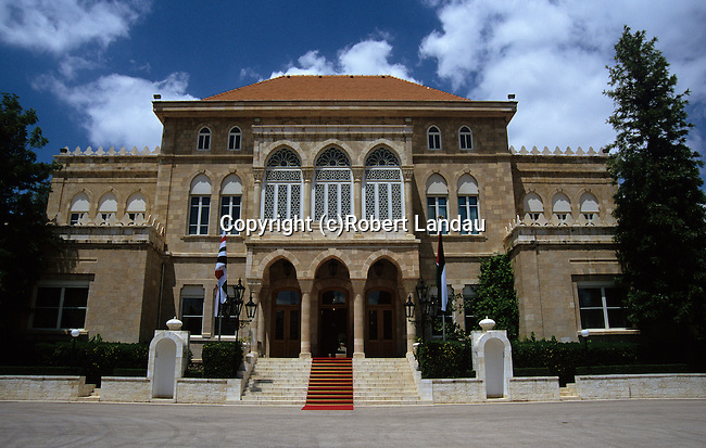 King Abdullah II Palace in Aman, Jordan