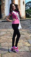 OURO PRETO, MG, 20.09.2013 - MISS BRASIL 2013 -Miss Goiás, Sileimã Pinheiro  candidata a Miss Brasil 2013 durante visita a cidade historica de Ouro Preto a 100 km de Belo Horizonte. (Foto: Eduardo Tropia / Brazil Photo Press)