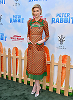 Elizabeth Debicki at the world premiere for &quot;Peter Rabbit&quot; at The Grove, Los Angeles, USA 03 Feb. 2018<br /> Picture: Paul Smith/Featureflash/SilverHub 0208 004 5359 sales@silverhubmedia.com