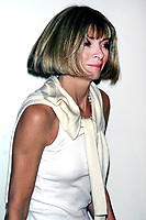 ANNA WINTOUR 2004<br /> AT OLYMPUS FASHION WEEK: MARC JACOBS SPRING 2005 COLLECTION AT PIER 54 IN NEW YORK CITY <br /> Photo By John Barrett/PHOTOlink