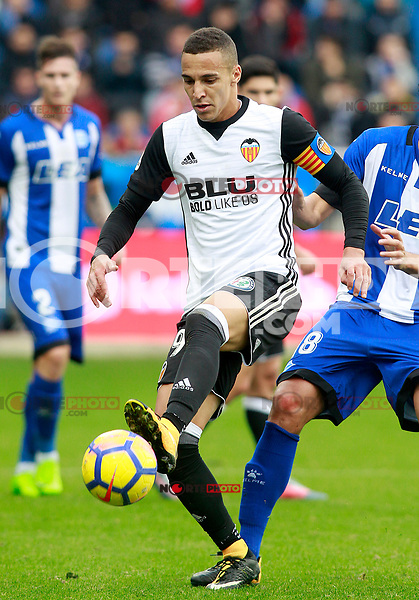 Valencia CF's Rodrigo Moreno during La Liga match. October 28,2017. (ALTERPHOTOS/Acero) /NortePhoto.com