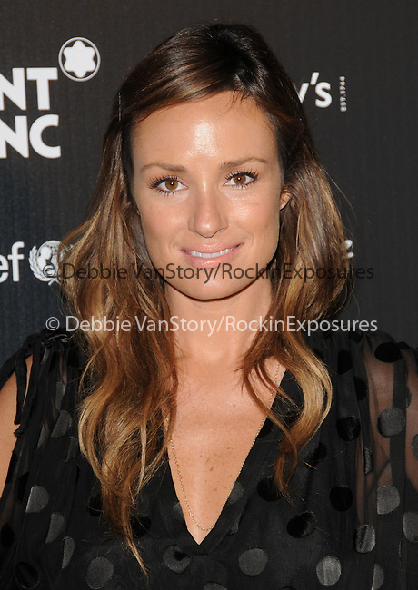 Catt Sadler at The Montblanc & Signature Cultural & Charitable Photo Project held at The Regent Beverly Wilshire Hotel in Beverly Hills, California on September 17,2009                                                                   Copyright 2009 DVS / RockinExposures