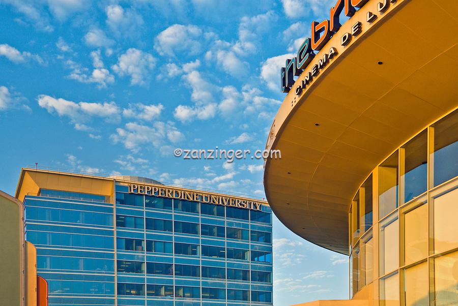 Pepperdine University, Bridge, Promenade, Howard Hughes Center, Los Angeles, CA,
