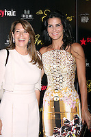 Lorraine Bracco and Angie Harmon at the Alliance for Women in Media Foundation's 37th Annual Gracie National Awards at The Beverly Hilton Hotel on May 22, 2012 in Beverly Hills, California. ©mpi28/MediaPunch Inc.