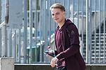 10.04.2018, Weserstadion, Bremen, GER, 1.FBL, Training SV Werder Bremen<br /> <br /> im Bild<br /> Luca Plogmann (Werder Bremen #40), <br /> <br /> Foto &copy; nordphoto / Ewert