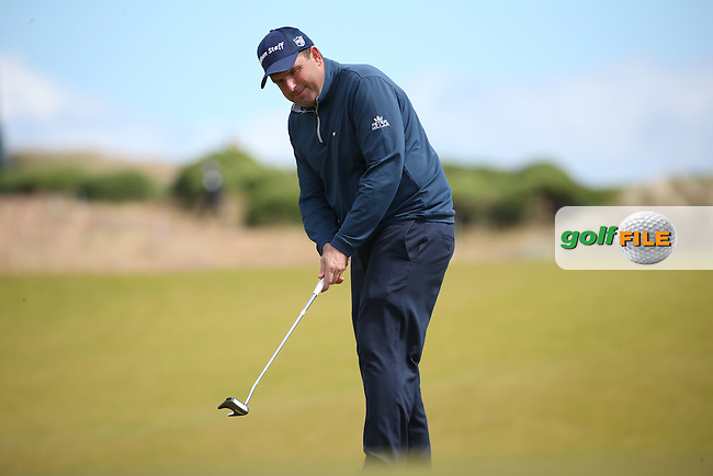 Anthony Wall (ENG) during Round Two of the 2016 Aberdeen Asset Management Scottish Open, played at Castle Stuart Golf Club, Inverness, Scotland. 08/07/2016. Picture: David Lloyd | Golffile.<br /> <br /> All photos usage must carry mandatory copyright credit (&copy; Golffile | David Lloyd)