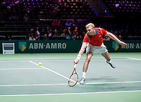 Februari 09, 2015, Netherlands, Rotterdam, Ahoy, ABN AMRO World Tennis Tournament, Glenn Smits (NED)<br /> Photo: Tennisimages/Henk Koster
