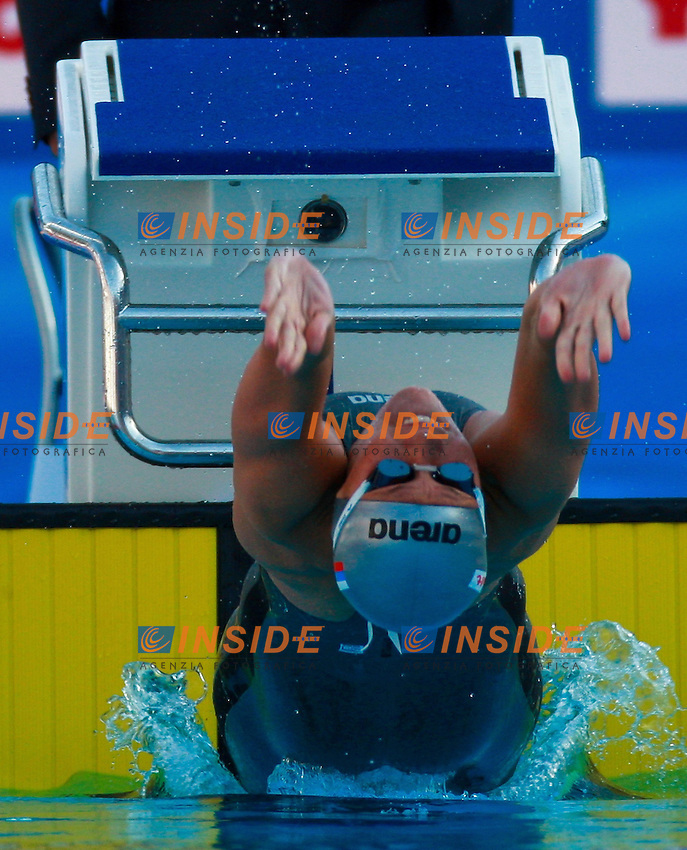 Roma 28th July 2009 - 13th Fina World Championships .From 17th to 2nd August 2009.100m Backstroke Womens.Zueva Anastasia RUS.photo: Roma2009.com/InsideFoto/SeaSee.com