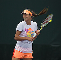 ANA IVANOVIC (SRB)<br /> Tennis - Sony Open -  Miami -   ATP-WTA - 2014  - USA  -  24 March 2014. <br /> <br /> &copy; AMN IMAGES