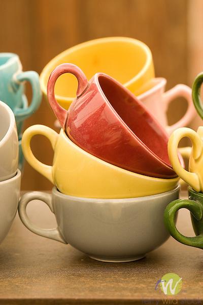 Flea market Fiesta Cups.