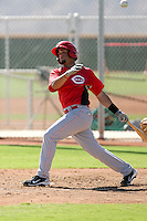 David Vidal - Cincinnati Reds - 2010 Instructional League.Photo by:  Bill Mitchell/Four Seam Images..