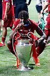 Liverpool's FC Divock Origi during UEFA Champions League match, Final Roundl between Tottenham Hotspur FC and Liverpool FC at Wanda Metropolitano Stadium in Madrid, Spain. June 01, 2019.(ALTERPHOTOS/Manu R.B.)