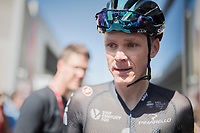 Chris Froome (GBR/SKY) post-race<br /> <br /> Stage 5: La Tour-de-Salvagny &rsaquo; M&acirc;con (175km)<br /> 69th Crit&eacute;rium du Dauphin&eacute; 2017