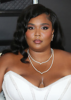 LOS ANGELES - JANUARY 26:  Lizzo at the 62nd Annual Grammy Awards on January 26, 2020 in Los Angeles, California. (Photo by Xavier Collin/PictureGroup)