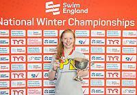 Picture by Allan McKenzie/SWpix.com - 13/12/2017 - Swimming - Swim England Winter Championships - Ponds Forge International Sport Centre - Sheffield, England - Laura Stephens.