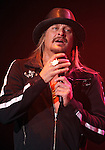 SIOUX FALLS, SD - MARCH 18:  Kid Rock performs at the Sioux Falls Arena, Monday night March 18, 2013. (Photo by Dave Eggen/Inertia)