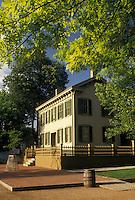 Abraham Lincoln, Springfield, IL, Illinois, Lincoln Home National Historic Site in Springfield.