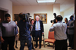 Ted Turner meets with CNN Journalism Fellows from all the world in his building in downtown Atlanta October 23, 2013.