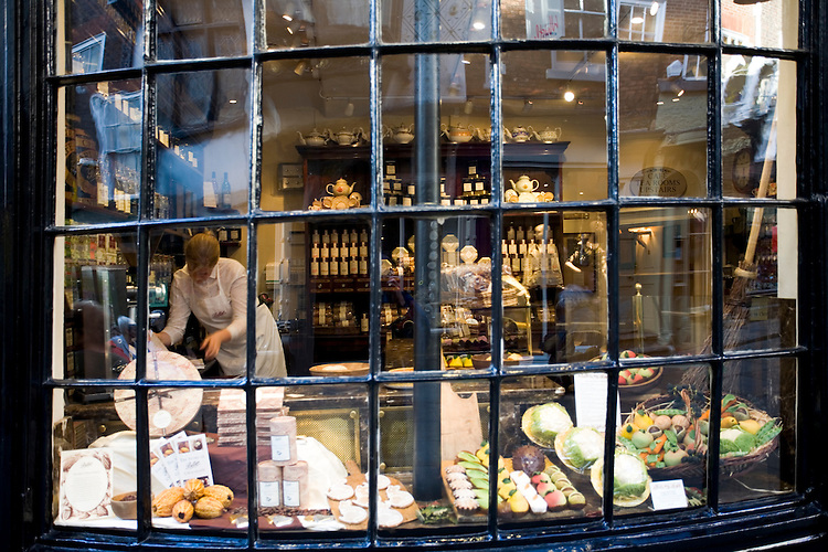 Store front in York, England