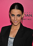 WESTWOOD, CA. - October 11: Jessica Lowndes arrives at the 6th Annual Hollywood Style Awards at the Armand Hammer Museum on October 11, 2009 in Los Angeles, California.