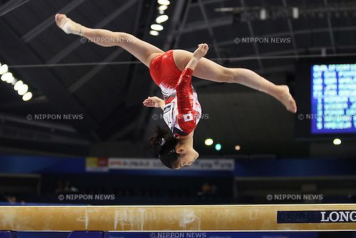 Yu Minobe (JPN), October 8, 2011 - Artistic Gymnastics : 2011 Artistic Gymnastics World Championships, Women's Qualification at Tokyo Metropolitan Gymnasium, Tokyo, Japan. (Photo by Daiju Kitamura/AFLO SPORT) [1045]