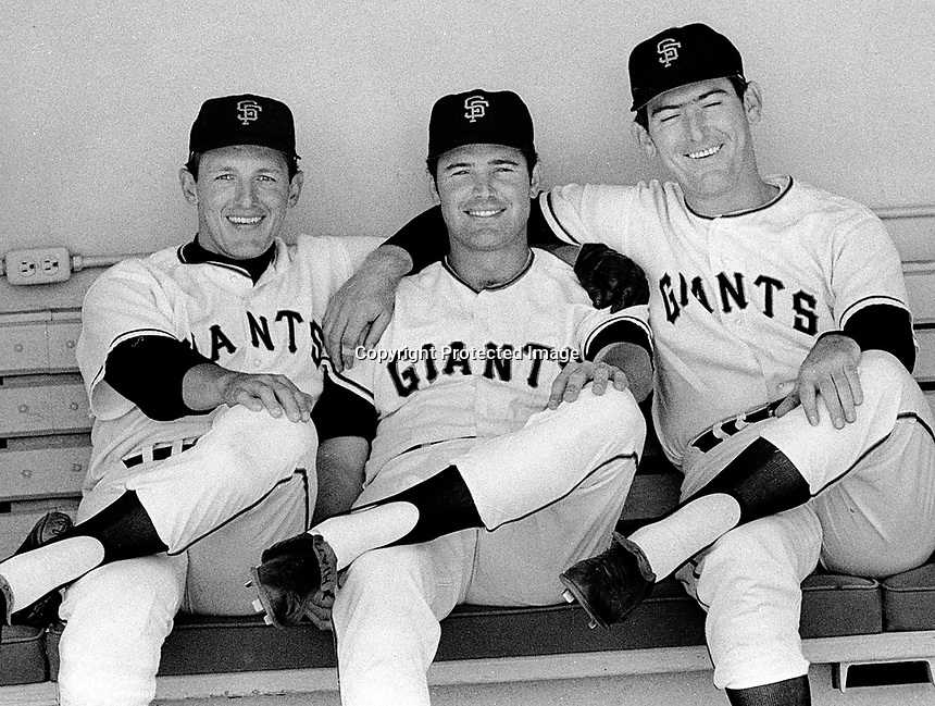 Giants...1967? Dick Dietz (on right)