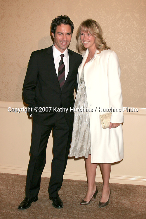 Eric McCormack & wife Janet.Divine Design Gala Awards Dinner 2007.Beverly Hilton Hotel.Beverly Hills, CA.November 29 2007.©2007 Kathy Hutchins / Hutchins Photo...               .