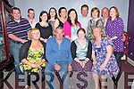 Patrick O'Mahony, Dungouney, Cork and Marion Clifford, Keel, pictured with Elaine Clifford, Jacqueline O'Shea, Patricia Corbett, Des Corbett, Mike Jones, Geraldine O'Gorman, Mary O'Mahony, Christina O'Mahony, Caroline Foley, John Foley, Michael O'Sullivan and Olivia O'Sullivan at theie pre wedding party held in the Silver Fox restaurant, Killarney on Saturday night.