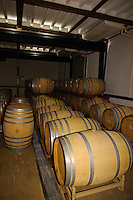 Wine barrels, Grace Wine, Katsunuma, Yamanashi Prefecture, Japan, October 12, 2009.